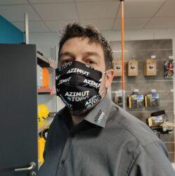 Masque Grand Public AZIMUT TOPO